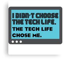Tech life - 2 Canvas Print