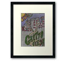 Ghetto Fresh  Framed Print