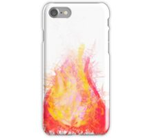 crystal flame iPhone Case/Skin