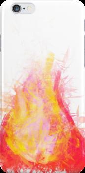 crystal flame by ANitrobenzene