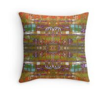 canal side #5 Throw Pillow