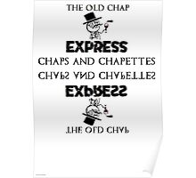 Old Chap Express? INDEED CHAPS Poster
