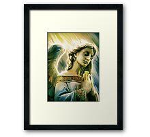 Blessing of the Divine Framed Print