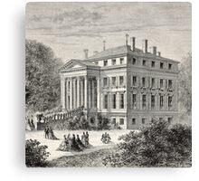 Georgian Mansion Canvas Print