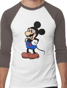 Super Mickey Brother Men's Baseball ¾ T-Shirt