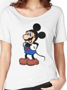 Super Mickey Brother Women's Relaxed Fit T-Shirt