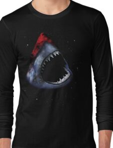 12th Doctor Who Star/Space Shark T-Shirt Ver. 1 Long Sleeve T-Shirt