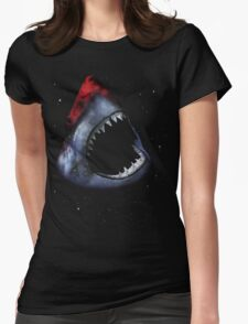 12th Doctor Who Star/Space Shark T-Shirt Ver. 1 Womens Fitted T-Shirt
