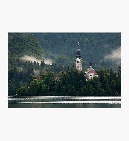 Island church Photographic Print