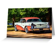 1956 Buick 5 Greeting Card
