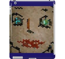Green Eyes Red iPad Case/Skin