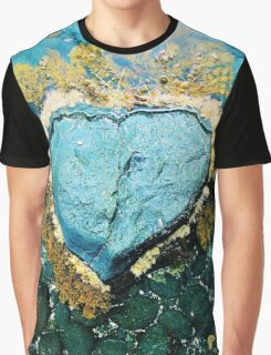 """""""Heart Stone"""" by Justin Lawson Graphic T-Shirt"""