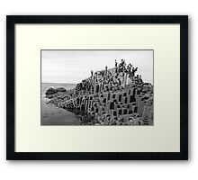 We Stood Tall with Giants Past, 2012 Framed Print
