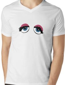 Miss Piggy Mens V-Neck T-Shirt
