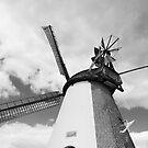 Windmill in Südhemmern by Harald Walker