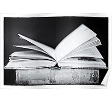 An Open Book Poster