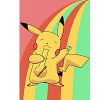 Pikachu Stoned Photographic Print