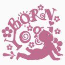Born Yogi (pink) by vivendulies