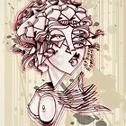 headdress girl by Jp87cents