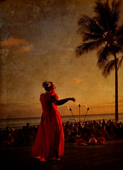 Sunset Hula by Alex Preiss