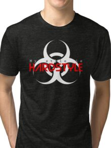 My style is hardstyle Tri-blend T-Shirt