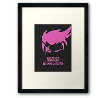 Zarya - Overwatch Framed Print