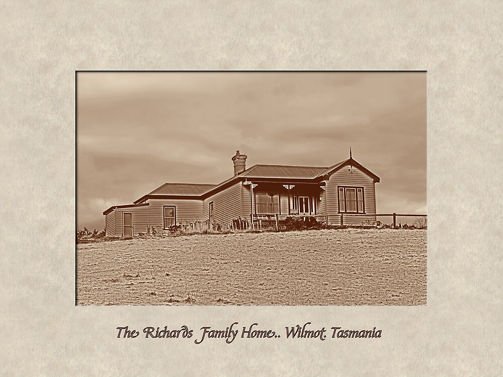 Richards Family Home by Elaine Game