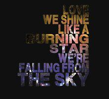 u2 burning star Unisex T-Shirt