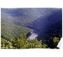 Cheat River Valley Poster