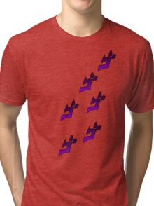 Jojo's Bizarre Adventure Menacing Tri-blend T-Shirt
