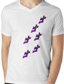 Jojo's Bizarre Adventure Menacing Mens V-Neck T-Shirt