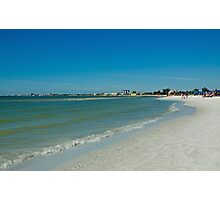 Fort Myers Beach  FL  Photographic Print