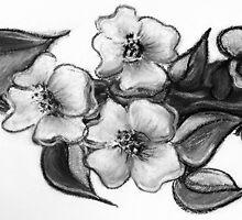 Tattoo Flowers by clearskiesart