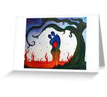 Cryin Tears of Love Greeting Card