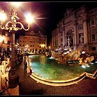 Fontana Di Trevi by Daniel Gudmundsson
