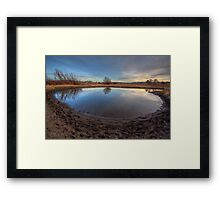 Natures Roundabout Framed Print