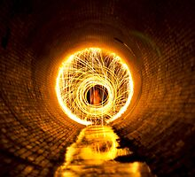 Light Painting Tunnel by CalsEdits