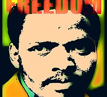 STEVE BIKO-FREEDOM COLOUR by OTIS PORRITT