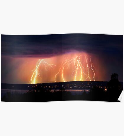 Lightning Power Poster