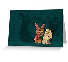 Shadow Monsters Greeting Card