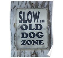 Slow - Old Dog Zone Poster