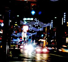 Christmas  rush down Yonge Street by MarianBendeth