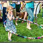 Hula Hoop Girl by Mikell Herrick