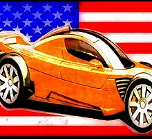 EXOTIC CAR-USA 2 by OTIS PORRITT