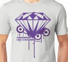 Shine Bright Like a Diamond! in Luxury!! For Men or Woman :D Unisex T-Shirt