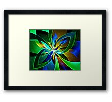 GHOSTS OF RIBBONS PAST Framed Print