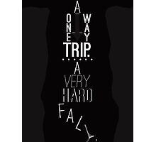 Mark of Athena - One Way Trip Photographic Print