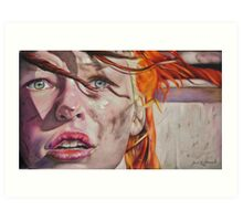 Leeloo Dallas Art Print