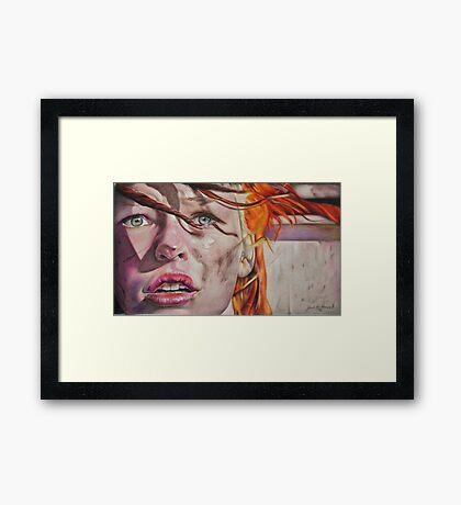 Leeloo Dallas Framed Print