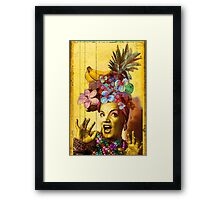 Tropical Miranda Framed Print